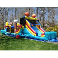 China Sport Arena Commercial Inflatable Obstacle Course Blow Up Water Obstacle Course on sale