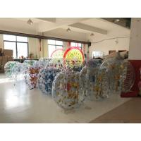 Wholesale 1.50M Inflatable Amusement Park Roll Inside Soccer Bumper Knocker Ball Entertainment Game from china suppliers