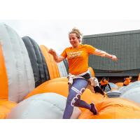 Wholesale Certificated Durable Insand Game Air Jump Inflatable 5k Obstacle Course for Adults from china suppliers