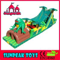 OB-002 Commercial Forest Design Inflatable Obstacle Course For Sale
