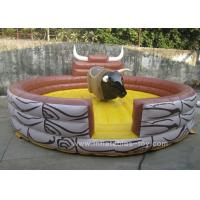 China Commercial Inflatable Sports Games Children Mechanical Riding Bull on sale