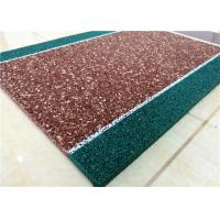 Wholesale Non Toxin Playground Rubber Flooring , Recyclable Rubber Pellets For Playground from china suppliers