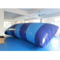 Wholesale Blue Heat sealing 7m * 3m Digital Printed Inflatable Water Blob For Aqua Park from china suppliers