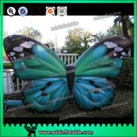 Wholesale Outdoor Advertising Inflatable Butterfly Beautiful Green High Tear Strength from china suppliers