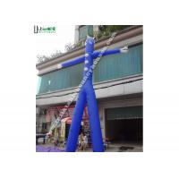 China Blue Advertising Inflatable Air Dancer Man for Promotion Activities on sale