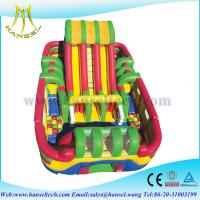 Wholesale Hansel paint ball inflatable obstacles courses tunnels play land playground for kids from china suppliers