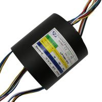 Buy cheap Through Hole Slip Ring 18 Circuit 15A Voltage 240VAC Through Hole Diameter 50mm from wholesalers