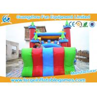 China Lovely Inflatable Comb Castle Bounce House , Inflatable Water Slide Jumping Castle on sale