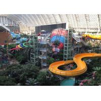 Wholesale Adult Playground Tube Slide / Fiberglass Slide Water Park Project from china suppliers