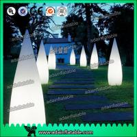 Wholesale 3M Inflatable Waterdrop Pillar For Festival Event Party Decoration from china suppliers