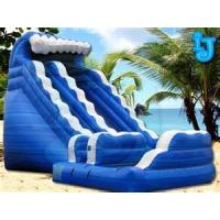 Wholesale Commercial portable water inflatable slide rentals for family backyard, parties, clubs from china suppliers