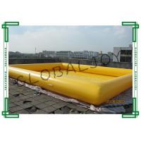 China Water Games Inflatable Water Pool / Inflatable Above Ground Pools on sale