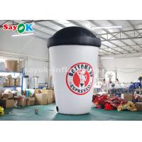 Wholesale 3.6m Custom Inflatable Products Inflatable Coffee Cup for Advertising from china suppliers