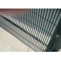 China 358 mesh Fence High Security Clearvu Fencing ,Anti Cut ,Climb Available V beams ,Customized hIGH SECURITY wire fence on sale