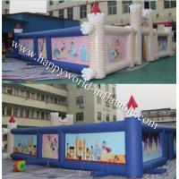 China inflatable maze for sale , outdoor  princess paint maze, inflatable haunted maze on sale