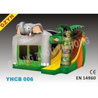Wholesale Attractive 3 in 1 Dumbo Inflatable Combo Bouncers Jumping House YHCB-006 from china suppliers