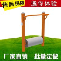 Soft Covering PVC Workout Playground Equipment Pull Up Bar Single Double Roller for sale