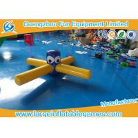 Pool Float Inflatable Water Park Games , Inflatable Dragonfly Water Toys For Entertainment