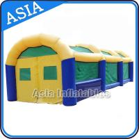China Amazing Inflatable Event Tent Paintabll Field Inflatable Party Tent on sale