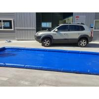 Wholesale Flexible Blue Car Wash Mats Water Containment Printing Double - Tripple Stitch from china suppliers