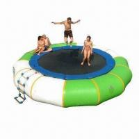 Buy cheap Inflatable Water Trampoline, Customized Sizes and Colors are Accepted from wholesalers