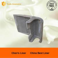 Buy cheap 42CrMo4 Mineral Processing / Cement Mill Liners With Heat Treatment from wholesalers