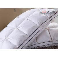 Wholesale Durable Comfort Pillows Duck Down With Embroidery Logo 1100g Customize Size from china suppliers