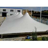 China Tear Resistance PVC Membrane Structure For Building Roof Cut The Cost on sale