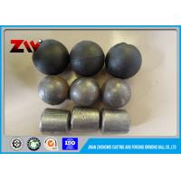 Wholesale Chrome iron ball mill grinding cylpebs in cast and forged , Hardness HRC 60-65 from china suppliers