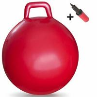 Wholesale Anti Slip Kids Jumping Ball Toy Bouncing Ball With Handle Light Weight 50cm from china suppliers