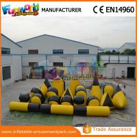 Wholesale Customized PVC Inflatable Paintball Bunkers / Battle Bunker Sport Games Equipment from china suppliers