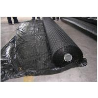 Self Adhesive Bitumen Coated Glass Fiber Biaxial Geogrid Fabric 100KN