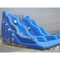 Wholesale inflatable dry slide , giant inflatable slide for adult and kids ,bouncy castle with slide from china suppliers