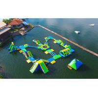 Wholesale Huge Outdoor Inflatable Water Park For Adult / Inflatable Water Games from china suppliers