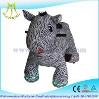 Wholesale Hansel animal plush zippy toy coin operated walking animal from china suppliers