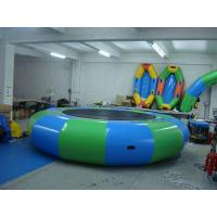Wholesale Water inflatable Trampoline Inflatable Bouncer Jumping Bed water park Floating from china suppliers