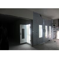 Wholesale Sidedraft Woodworking Paint Booth 6.9 Meters 3 Phase 220V 60HZ For Workshop from china suppliers