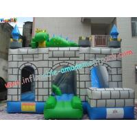 Wholesale Custom Inflatable Bouncer Slide Commercial Grade With PVC Tarpaulin from china suppliers