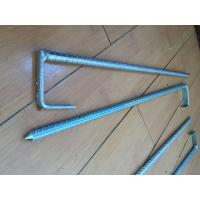 Wholesale Heavy Duty Metal Garden Stakes Camping Tent Peg For Grounding Stakes from china suppliers