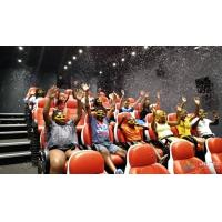 Wholesale 2200W 380V 5D Movie Theater Ocean Park 5D Motion Cinema Arc Screen from china suppliers