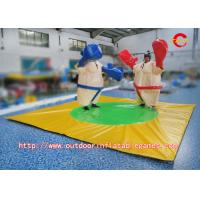 Wholesale PVC Kids Inflatable Sports Games , Inflatable Foam Padded Sumo Wrestling Suits from china suppliers