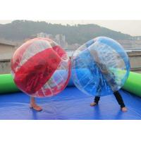 Wholesale Kids / Adults Inflatable Bubble Ball Durable Plato PVC Human Bouncy Ball from china suppliers