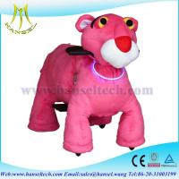 Wholesale Hansel motorized plush riding animals animal rides walking animal rides from china suppliers