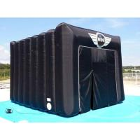 China Black Square Inflatable Tent For Camping on sale