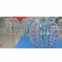 Wholesale Inflatable bumper ball, comes in various sizes/colors/logos, made of PVC/TPU materials, top quality from china suppliers