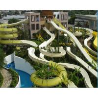 Wholesale Amusement Waterpark Project , Gaint 10m Height Fiberglass Body Slide from china suppliers