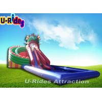 Buy cheap Colorful Dragon Style Inflatable Water Park , Suitable for all people. from wholesalers