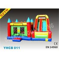 Buy cheap 3 in 1 Attractive Inflatable Combo Bouncers YHCB-011 with EN14960 Certifiates fo from wholesalers