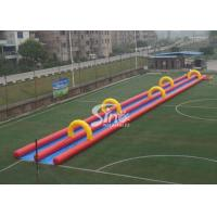 China Custom made outdoor kids N adults inflatable water slide N slip from Sino Inflatables factory on sale