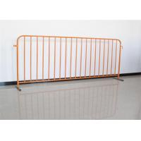China Stainless Steel Temporary Fence Crowd Control Barriers For Portable Pedestrian on sale